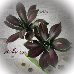 アートな多肉植物!フラワーブーケ