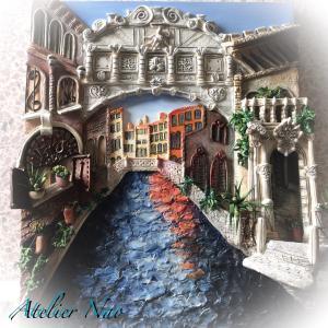 粘土のゴンドラで!ヴェネツィア観光