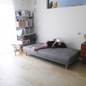 理想的なソファーとお買い物続き。