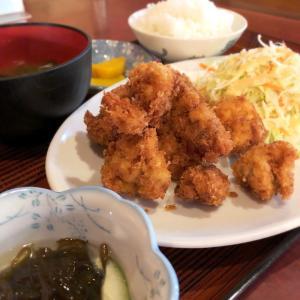 茶話館(チキンのから揚げ定食)