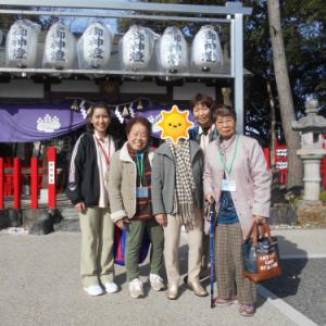 【城北デイ】初詣ツアー2日目~♪