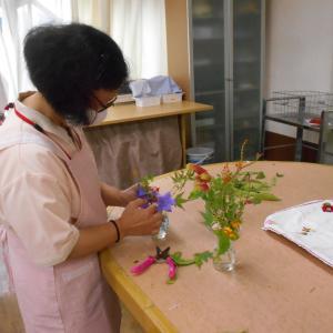 【城北デイ】お花を頂きました~(*^^*)