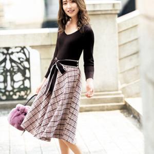 衛藤美彩さん着用♪1着は持っていたいレディ派の王道ツイードならLAISSE PASSE!