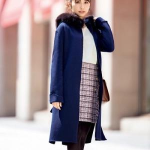 美人百花10月号×レッセパッセ♪衛藤美彩さん着用ツイードスカートでデートコーデ♪