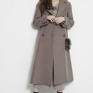 Rirandtureのモカ色のコートがかわいい♪ #Rirandture #リランドチュール