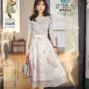 大好きなおしゃれに思いっきり浸れる華やかなスカート♪ 花柄スカート♪
