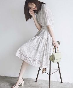 宮田聡子さんって何でこんなに可愛いの♡♪Rirandture(リランドチュール)のワンピース♪