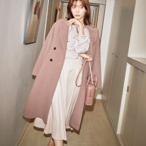 #八木アリサ さんが着こなす冬の装いにフェミニンな魔法をかけるジルバイの新作アイテム