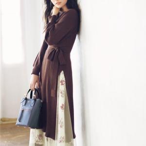 #道重さゆみ さんが着こなす ムード満点の冬服が到着♡