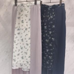 【トレンドアイテム】大人気切り替えのスカート♪1枚でコーデの主役になるスカートです^^