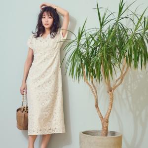 #石川恋 さんが着るNoela夏の新作ワンピース。