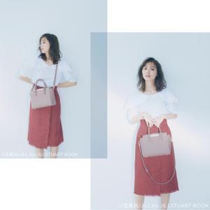 #jillbyjillstuart #内田理央 さん フリルトートバッグが可愛すぎる♡