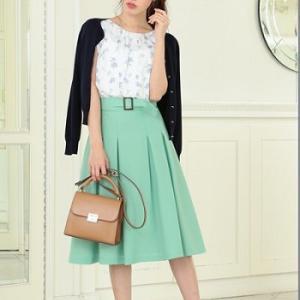 レッセパッセの春物新作服でキレイ目コーデ例★ #レッセパッセ