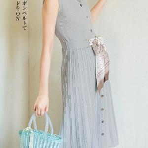 宮田聡子さんが可愛すぎる♪ #jillbyjillstuart スカーフ付ニットワンピース
