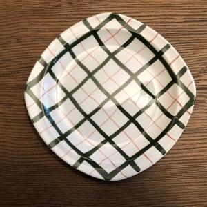 ミッドウィンター/Homeweave Green/ホームウェーブグリーン/中皿 22cm