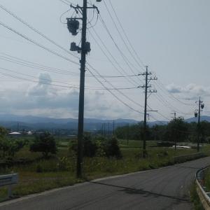 新緑の愛知県を走る