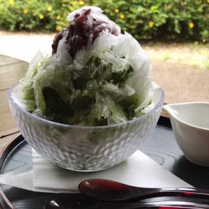 天下茶屋のかき氷を食べて来ました!