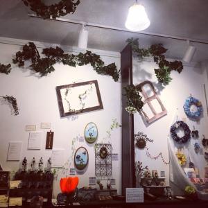 薬草園の陽は落ちて…【PlumTree】第11回企画展「夏草の園庭 空想薬草園2」会期終了の御礼