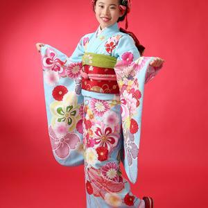 10歳ハーフ成人式の着物レンタルございます!|狛江市世田谷区喜多見フォトスタジオリーフ