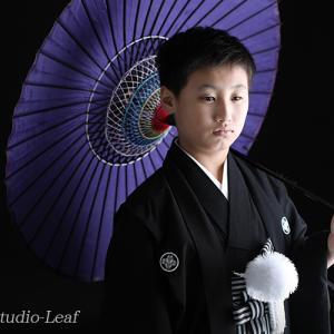 10歳ハーフ成人式でかっこいい一枚を!|狛江市世田谷区喜多見フォトスタジオリーフ