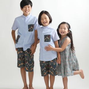 3人兄弟で賑やかなご撮影♪ 狛江市世田谷区喜多見フォトスタジオリーフ