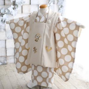 3歳男児用お被布セットの新しい着物が入荷しました! 狛江市世田谷区喜多見フォトスタジオリーフ