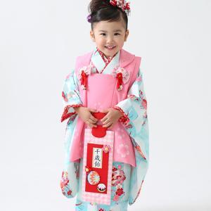 こだわりの着物で7歳お出掛けレンタル♪|狛江市世田谷区喜多見フォトスタジオリーフ