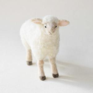ひつじ/羊毛フェルト