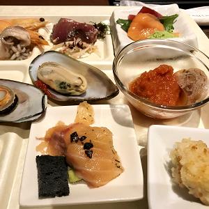 熱海伊豆山で夕食のブッフェ・バイキング♪