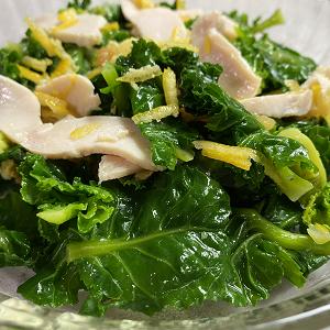 初めての野菜!プチベールのガーリックオイルサラダ♪