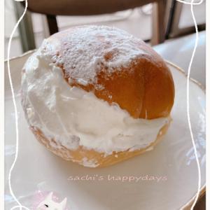 「POMPADOUR」マリトッツォ オランジュ♡爽やかな味が美味♡梅雨の晴れ間の紫陽花♡