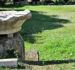 古代アゴラのアレス神殿  紀元前436年-432年