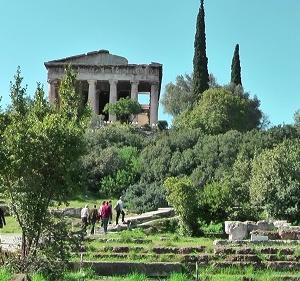 古代アゴラのヘーパイストス神殿