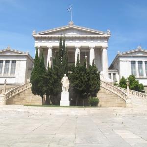 ギリシャ国立図書館 新古典主義三部作のひとつ