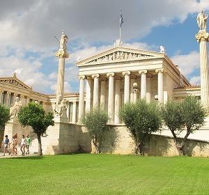 アテネのアカデミアの動画を作ってみた。