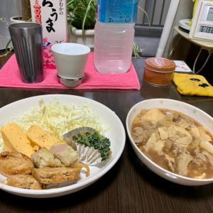 昨晩の晩御飯