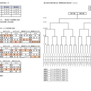 第48回日本選手権大会 南関東支部代表決定トーナメント