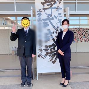高校の入学式を終えました!@佐倉市ネイルサロンpinkbutterfly