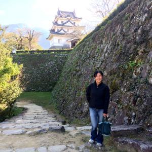 はじめての宇和島城天守。