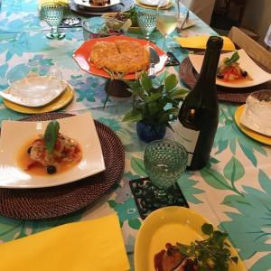 雑穀料理教室:7月のメニュー