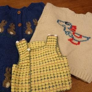 20年ぶりの編み物