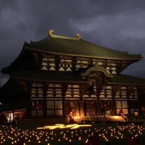 燈花会…東大寺
