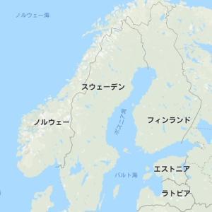 北欧3国 C型コロナ感染比較。 やはりスウェーデンは失敗