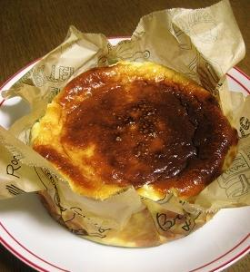ひさしぶりのバスク風チーズケーキ