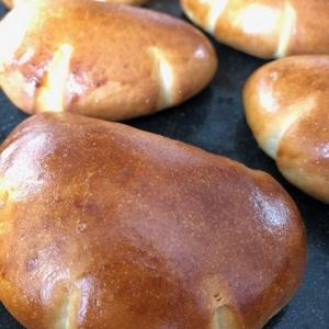 きび砂糖のクリームパン