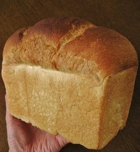 山型食パンとお盆