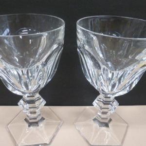 バカラ Baccarat アルクール ゴブレット ペアグラス ワイングラス 201102