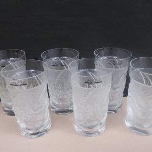 ラリック LALIQUE クリスタルガラス イロンデル ハイボール タンブラーグラス