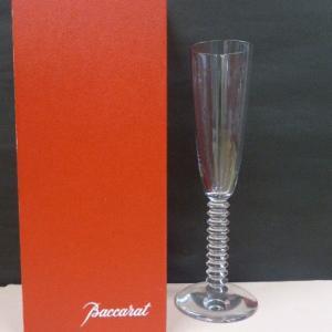 バカラ Baccarat クリスタルガラス ラランド シャンパンフルート グラス LALAND