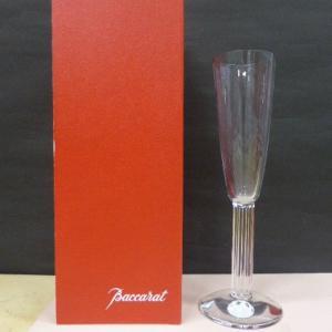 バカラ Baccarat クリスタルガラス リラ Lyra シャンパンフルート シャンパングラス